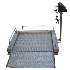 XK3190醫院用碳鋼輪椅電子秤
