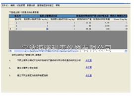 土肥站肥效体系指标建立系统软件