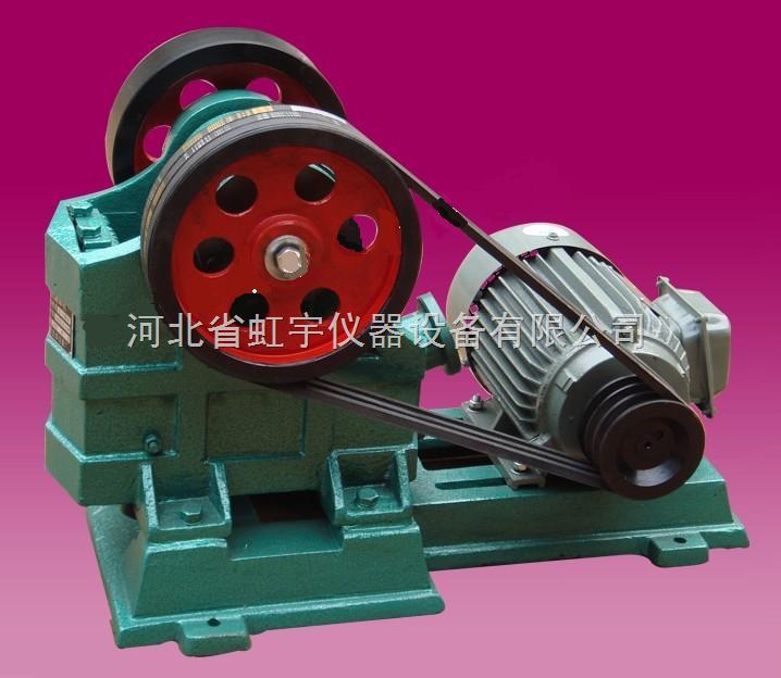 颚式破碎机的工作原理及结构特点