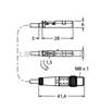 BIM-UNT-AN6X-0,3-PSG3M图尔克TURCK磁感应传感器